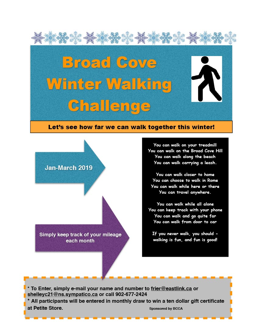 Winter Walking Challenge