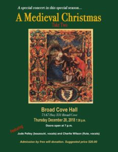 Medieval Christmas Concert