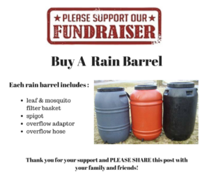 Rain Barrel Fundraising Sale